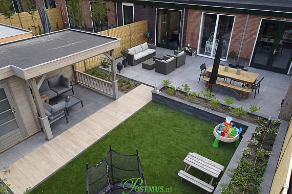 Prachtig terras met veranda