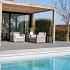Keramiek tegels Piet Boon 90x90x3 cm Concrete Ash