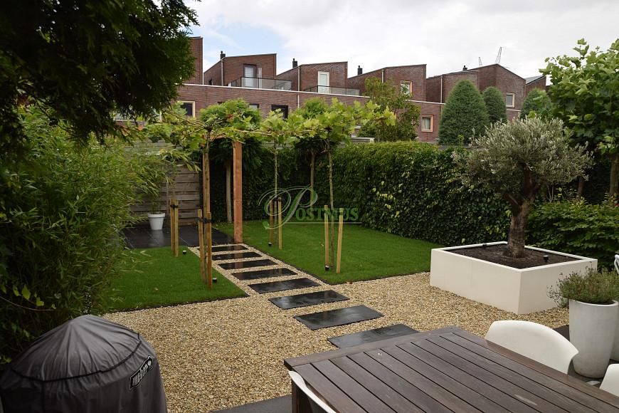 Grind In Tuin : Kiezelstenen tuin woonkamer xyz