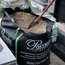 Zand in big-bag